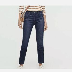 JCrew Vintage straight trouser jean in Deep Sea
